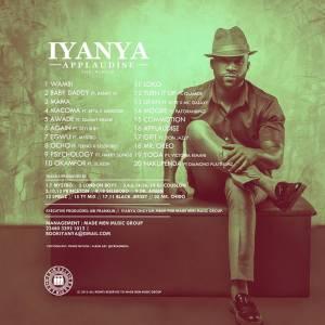 Applaudise-Iyanya-Tracklist